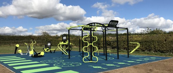 Outdoor Gym at Central Recreation Ground