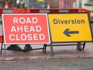 Road Closure Ditchford Lane, Rushden & Wellingborough