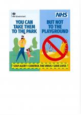 Closure of Play Areas and Outdoor Gym