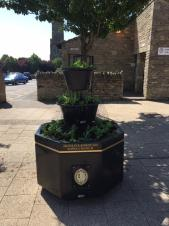 New High Street planters